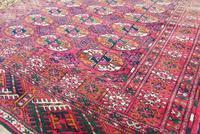 Rare Antique Tekke Turkman Carpet Runner (6 of 6)