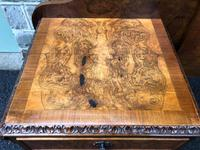 Pair of Antique Burr Walnut Bedside Tables (11 of 12)