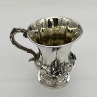 Antique William IV Sterling Silver Christening Mug London 1838 John Tapley (2 of 9)