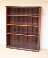 Oak Open Bookcase c.1910 (2 of 10)