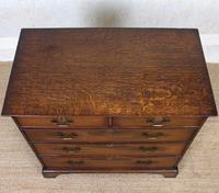 Georgian Oak Chest of Drawers George IV (2 of 9)