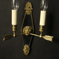 French Pair Of Empire Antique Wall Lights Oka (9 of 10)
