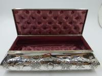 Antique Silver Casket. London 1902 (2 of 9)