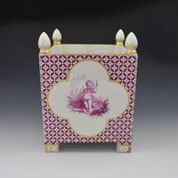 Large Victorian Minton Sevres Style Square Jardiniere (2 of 15)