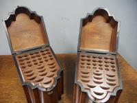 Pair of George III Inlaid Mahogany Cutlery Boxes (4 of 9)