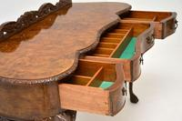 Queen Anne Style Burr Walnut Server Table c.1930 (7 of 12)