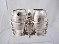 Fab Quality Victorian Silver Condiment Set George Fox London 1877 (11 of 12)