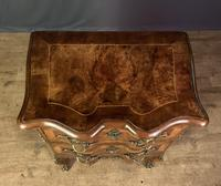 French Walnut Shaped Front Commode Chest (8 of 10)