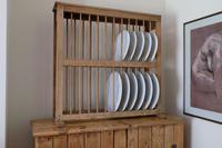 Antique Pine Freestanding Plate Rack (4 of 20)