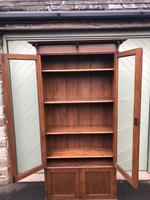 Arts & Crafts Glazed Oak Bookcase (5 of 11)