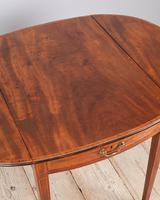 George III Oval Mahogany Pembroke Table (6 of 9)