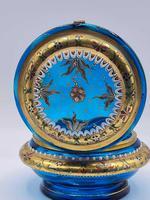 Antique 19th Century Moser Glass Enamel Box (2 of 11)