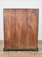 Antique Carved Oak Bureau (14 of 14)