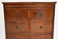 Small Antique Mahogany  Chest of Drawers (11 of 12)