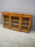 Victorian Walnut Breakfront Credenza (2 of 13)