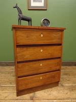 Small Vintage Haberdashery Chest of Drawers, Post Office Chest with Numbers (14 of 18)