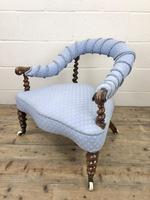 Victorian Mahogany Barley Twist Chair (4 of 10)