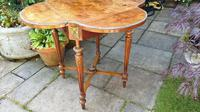 Exceptional 19th Century Marquetry Drop-leaf Centre Table (2 of 9)