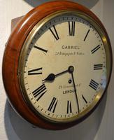 "Small 10"" Dial Fusee Wall Clock, Gabriel London (3 of 5)"