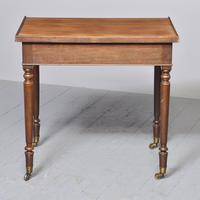 Quality George IV Mahogany Side Table (6 of 6)