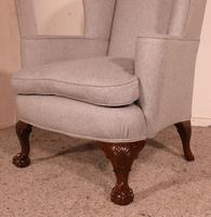 Queen Anne Armchair in Mahogany - 19th Century (8 of 9)