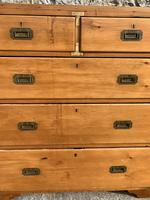 19th Century Pine Campaign Chest (2 of 5)