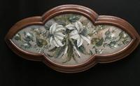 Victorian Beaded  Tapestry Tray (5 of 7)