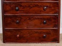 Cuban Mahogany Chest of Drawers 19th Century Tallboy (12 of 12)