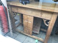 Oak Alter / Church Gothic Table (6 of 6)