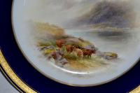 Royal Worcester 1914 Dish - Highland Cattle - Hand-painted by John Stinton (3 of 8)