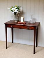 Early 19th Century Mahogany Side Table c.1820 (5 of 10)