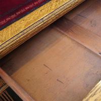 Victorian Oak Maple & co Pedestal Desk (5 of 11)