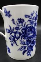 Attractive Late 18th Century Caughley Pint Tankard (2 of 5)