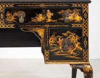 Queen Anne Style Chinoiserie Dressing Table & Chair (18 of 22)