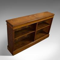 Large Antique Library Bookcase, Scottish, Oak, Bookshelf, Cabinet, Victorian (6 of 12)
