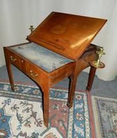 Chippendale period mahogany architect's table (6 of 9)