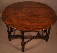 Rare Yew Wood Gateleg Table