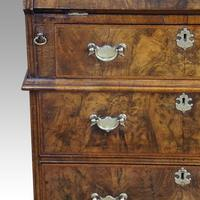 19th Century Walnut Bureau Bookcase (19 of 19)
