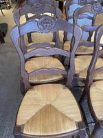 Set of Six Oak Chairs (4 of 6)