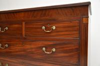 Antique Georgian Inlaid Mahogany Chest of Drawers (7 of 11)