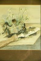 Snowdrops Still Life Watercolour (8 of 9)