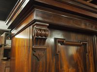 Victorian Mahogany 3 Door Wardrobe (3 of 8)