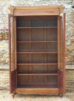 19th Century French Directoire Style Mahogany Bookcase Cabinet (8 of 11)