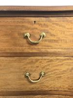 Edwardian Inlaid Mahogany Serpentine Chest of Drawers by Waring & Gillow (M-1489) (10 of 16)