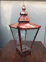 Antique Copper Glazed Lantern (6 of 8)