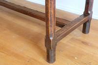 19th Century French Refectory Style Table with pull-out bread board (11 of 18)