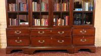 Four Doors Breakfront Bookcase In Mahogany - Early 19th Century (3 of 11)
