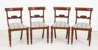 Set of 4 William IV Style Mahogany Chairs (2 of 10)