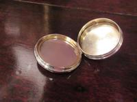 George V Period Silver & Tortoiseshell Compact (5 of 7)