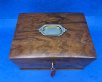 Walnut Jewellery Box c.1900 (10 of 14)